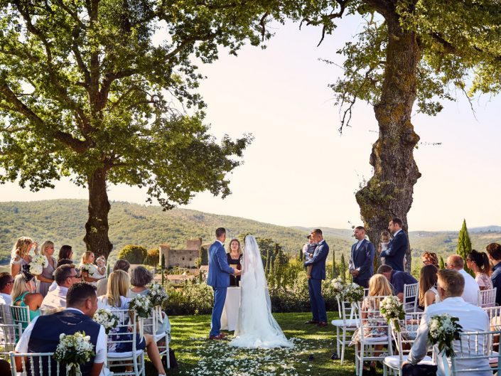 Wedding at Castello di Meleto