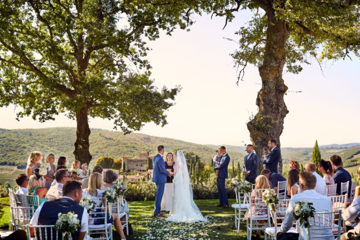 Wedding at Castello di Meleto
